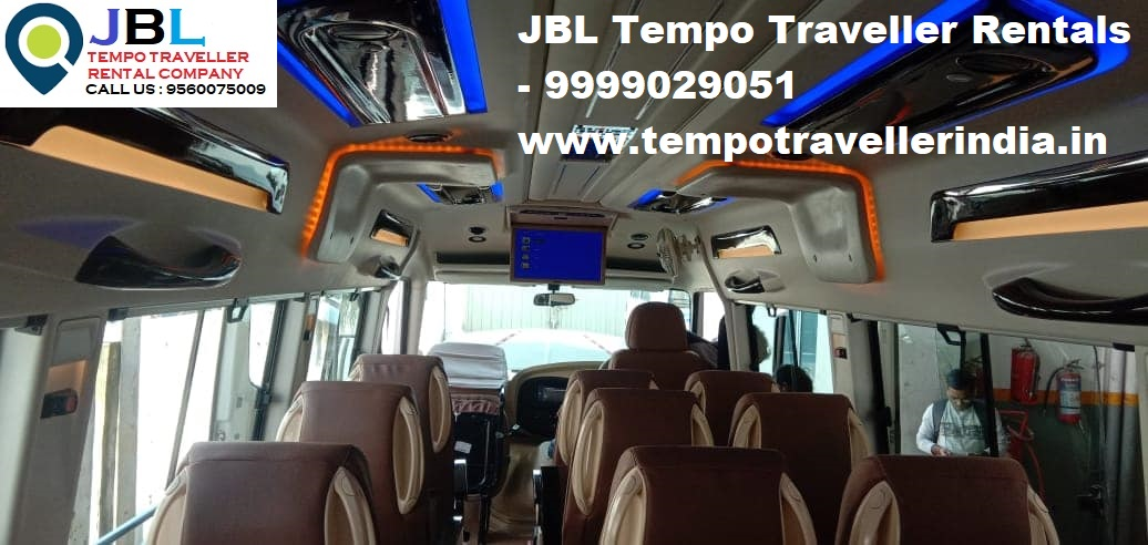 Rent tempo traveller in Ismailpur�Faridabad