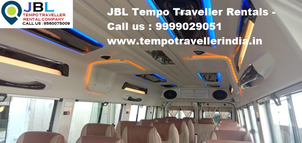 Rent tempo traveller in Sector 81�Faridabad