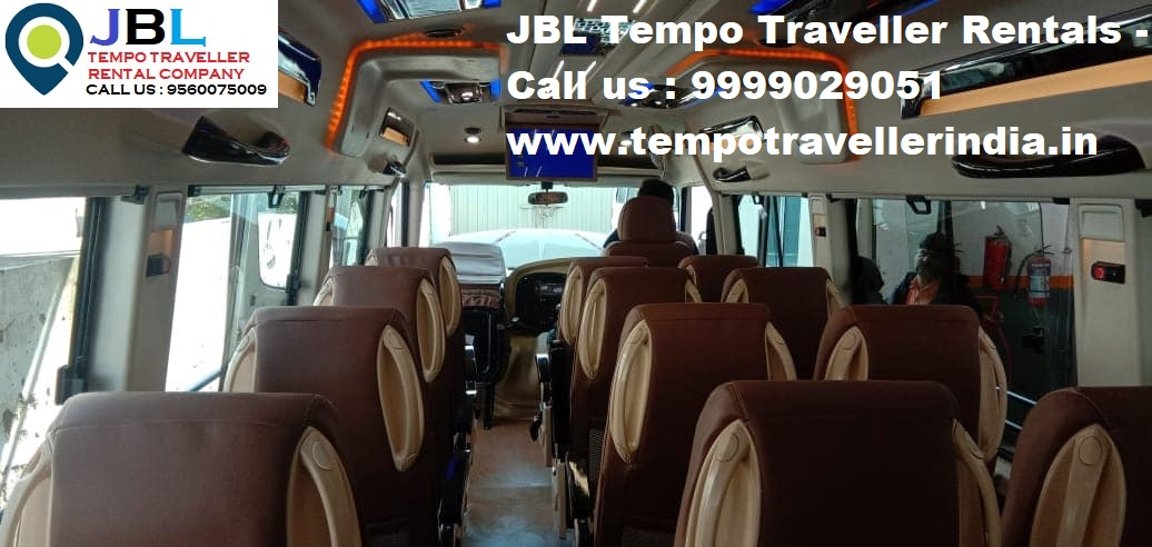 Rent tempo traveller in Sector 75�Faridabad
