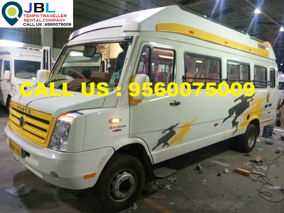 Tempo Traveller rent in Ballabgarh