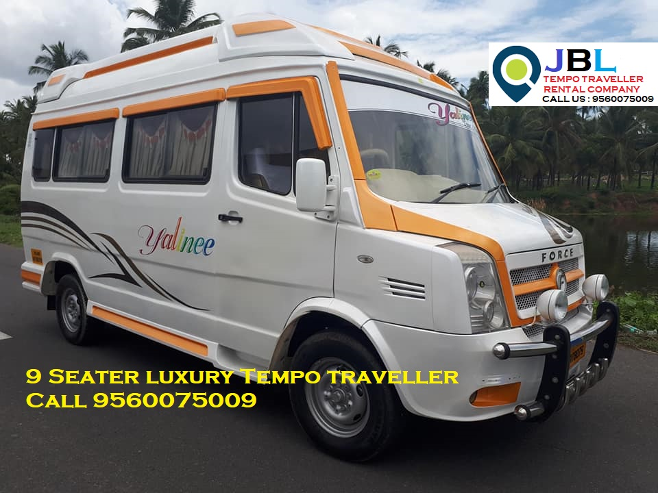 Rent tempo traveller in Gazipur�Faridabad