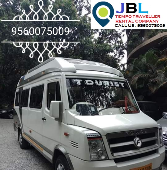 Rent tempo traveller in Railway Colony�Faridabad