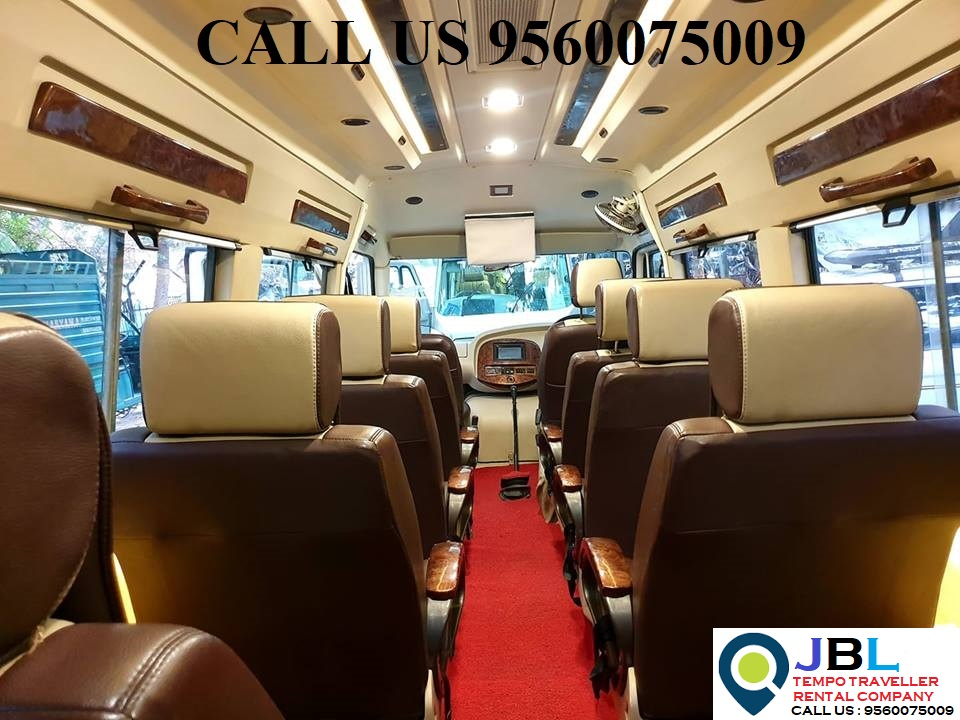Rent tempo traveller in Eros Garden�Faridabad