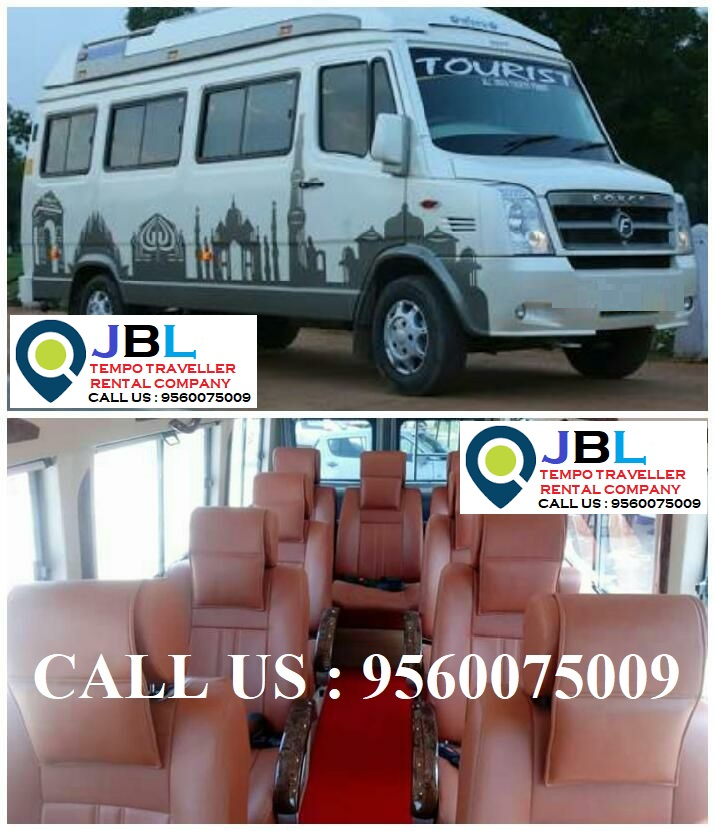 Rent tempo traveller in Sadupura�Faridabad