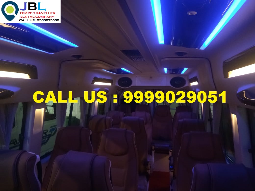 Rent tempo traveller in Sector-4�Faridabad