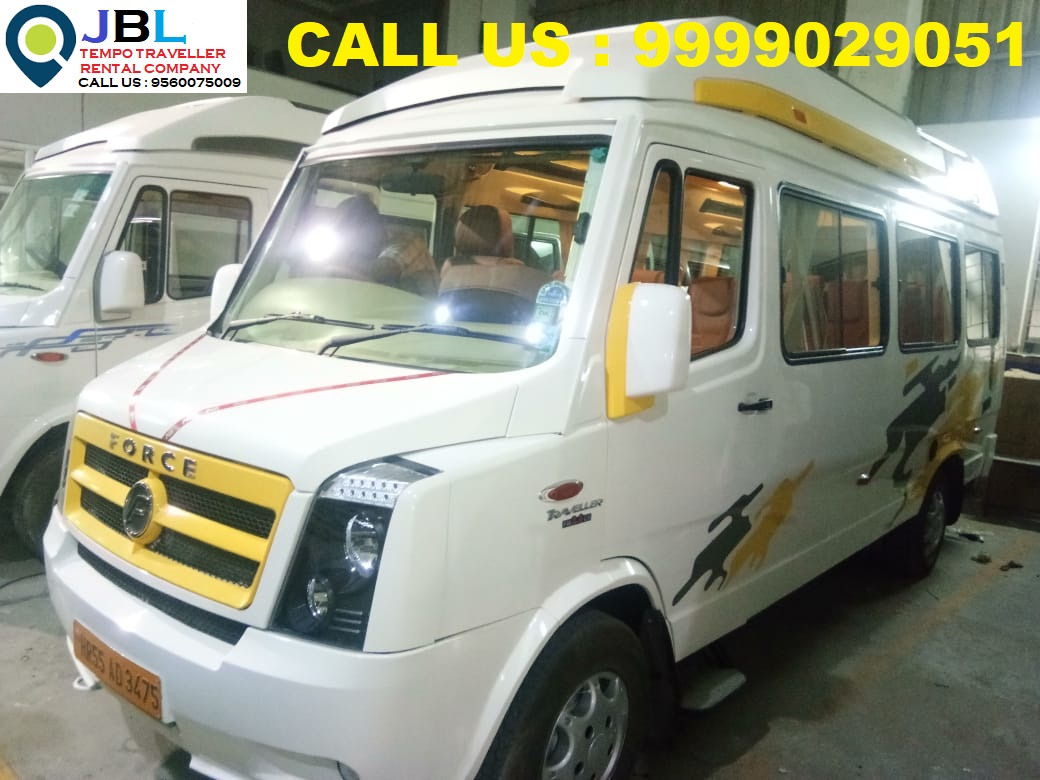 Rent tempo traveller in Sector-7�Faridabad