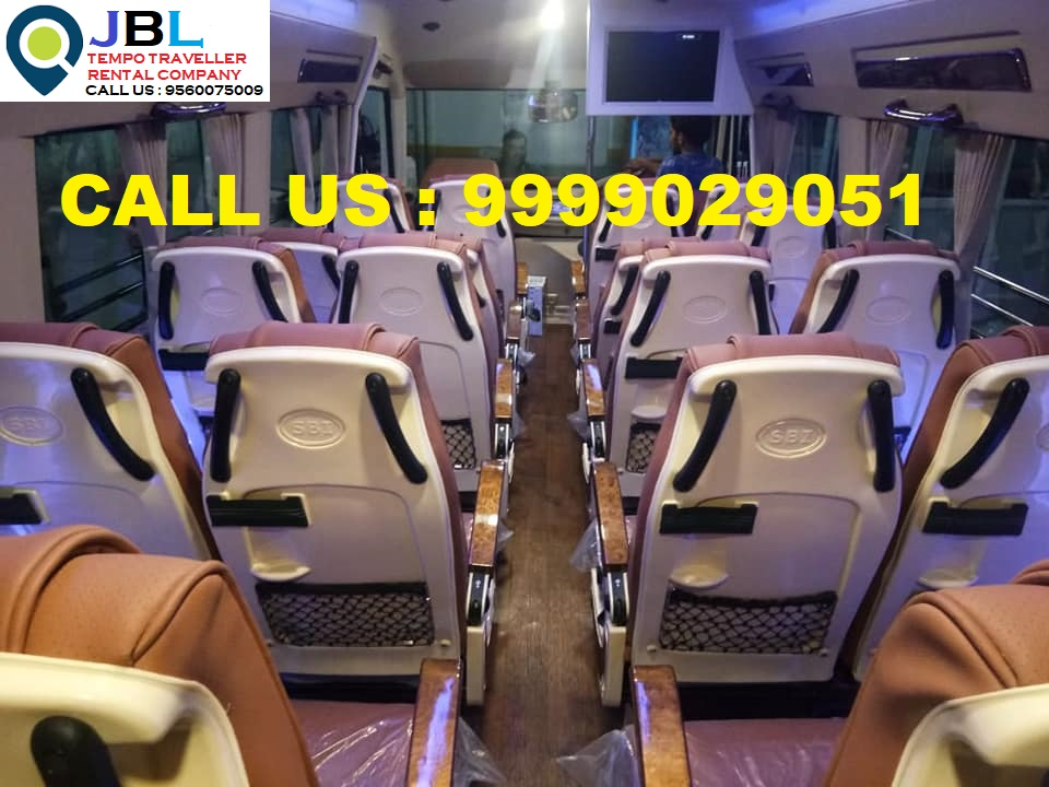 Rent tempo traveller in Sector 76�Faridabad