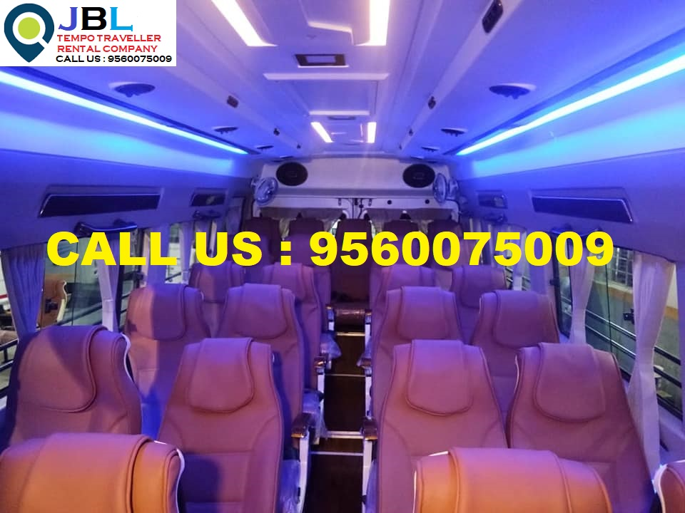 Rent tempo traveller in Sector 86�Faridabad