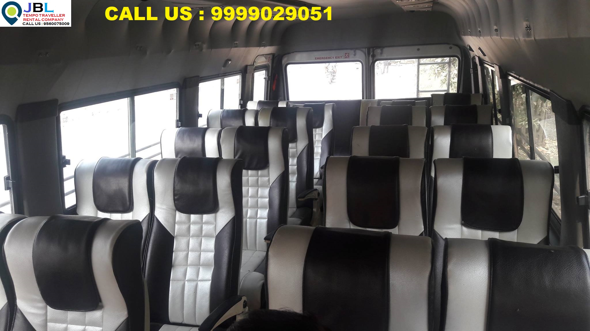 Rent tempo traveller in Sector 80�Faridabad