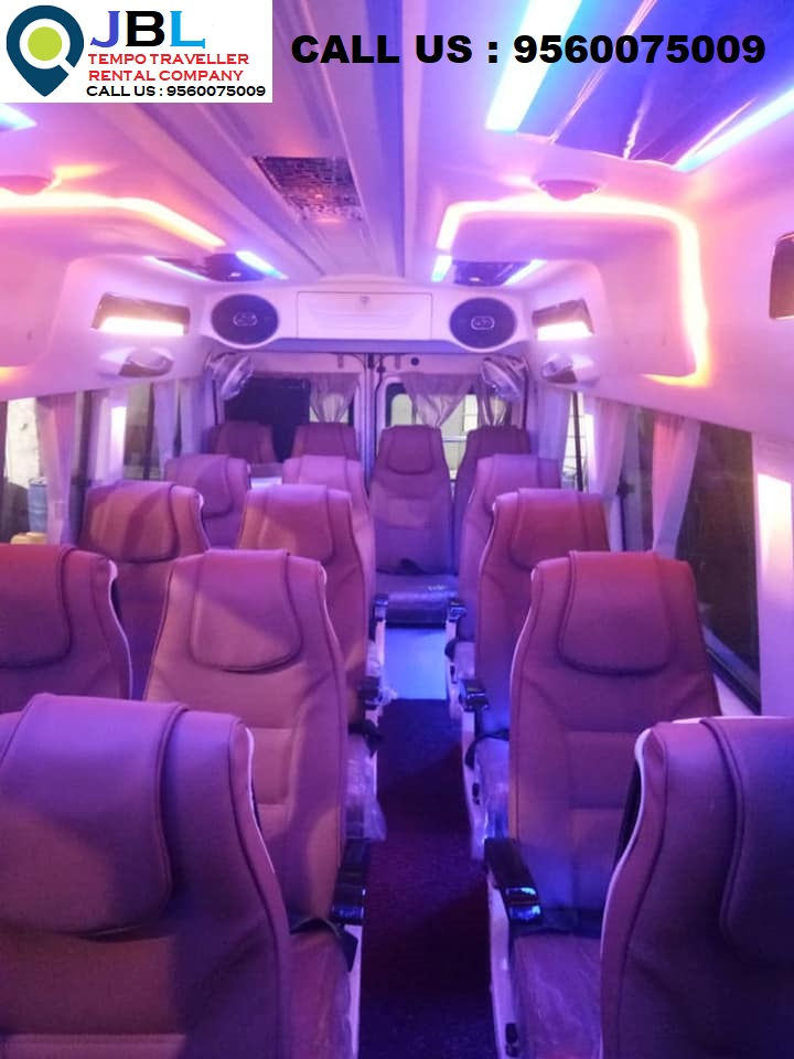 Rent tempo traveller in Sector 82�Faridabad