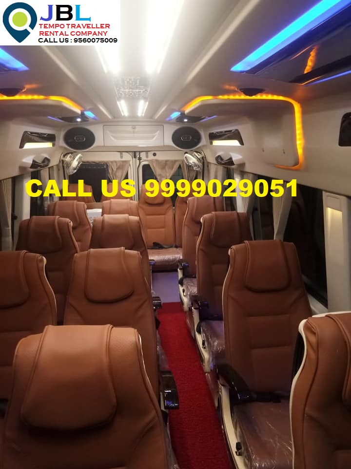 Rent tempo traveller in Sector 77�Faridabad